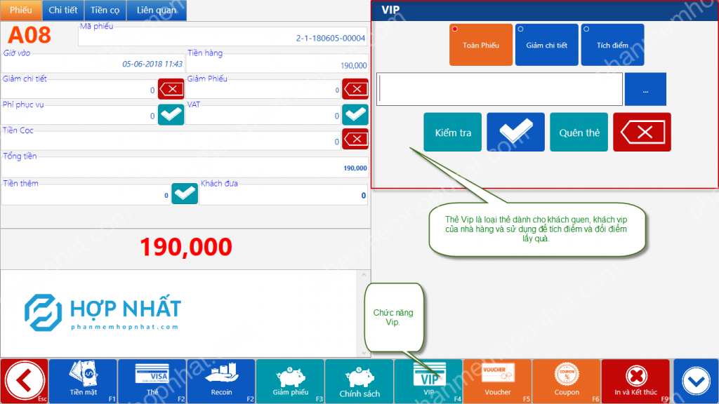 Relipos CRM System